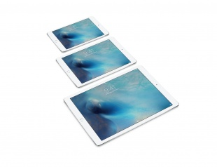 "Apple iPad Pro 12,9"" (Late 2015) 128Гб / Wi-Fi / Silver"